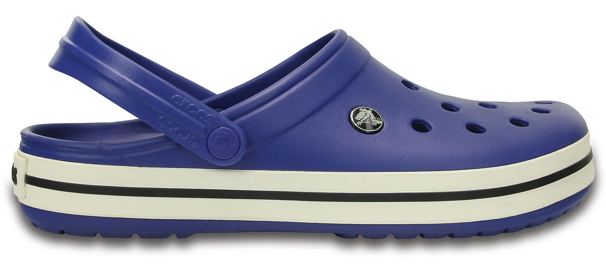 3a773228b Crocs Crocband Clogs Unisex cerulean blue oyster